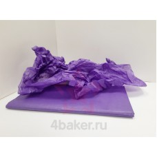 Бумага Тишью 50х66см, Сиреневая, 10 листов nz
