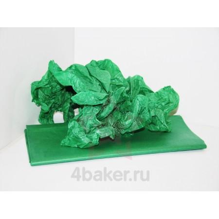 Бумага Тишью 50х66см, Зеленая, 10 листов nz