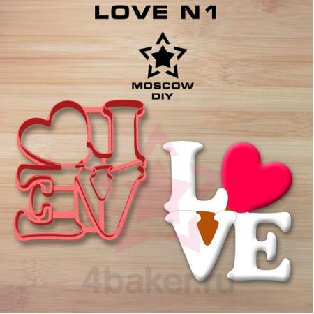 Вырубка-штамп LOVE N1