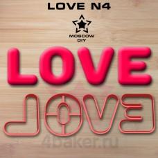 Набор вырубок LOVE N4