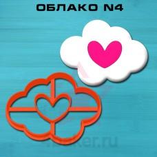 Вырубка-штамп Облако N4