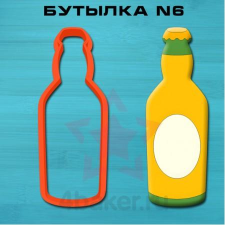 Вырубка Бутылка N6