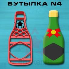 Вырубка-штамп Бутылка N4