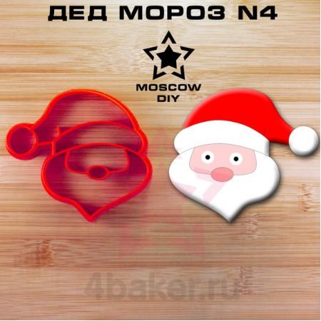 Вырубка-штамп Дед Мороз N4