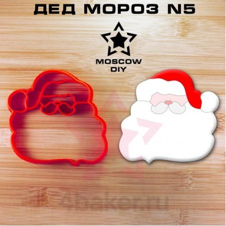 Вырубка-штамп Дед Мороз N5
