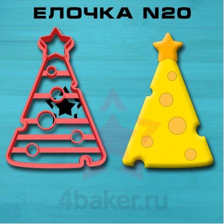 Вырубка-штамп Елочка N20