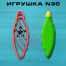 Вырубка-штамп Игрушка N30