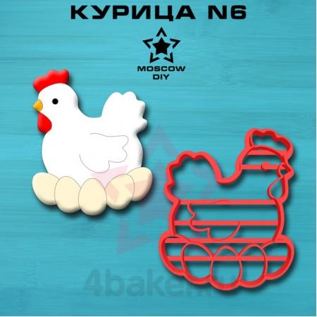 Вырубка-штамп Курица N6